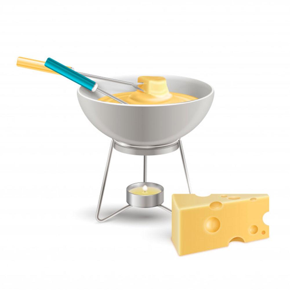 Ustensile De Cuisine Pour Réchauffer un appareil à fondue pour nous réchauffer le cœur en hiver